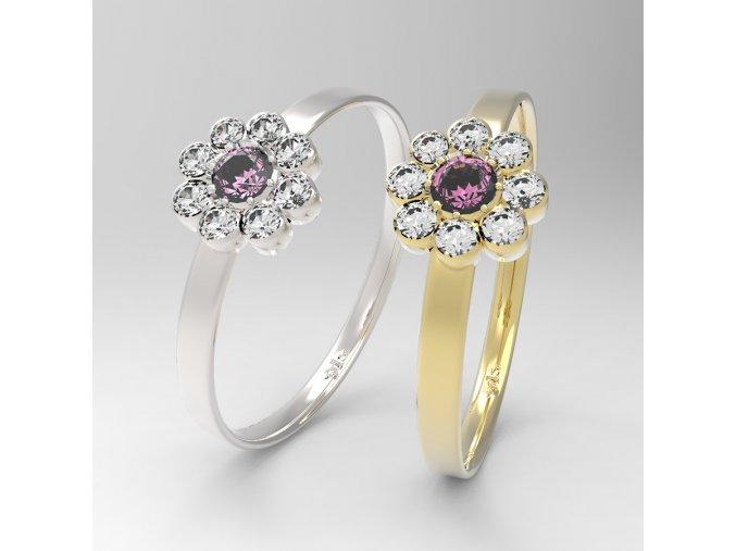 primavera aqua prsten