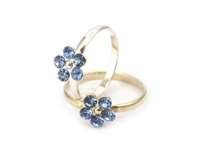 Raspilla - prsten stříbro 925/1000 (Materiál Pozlacené Stříbro 925 (14K), Velikost 56)
