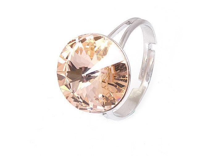 Rivola Vista - Light Peach - prsten  «F»