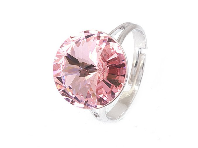 Rivola Vista - Light Rose - prsten  «F»