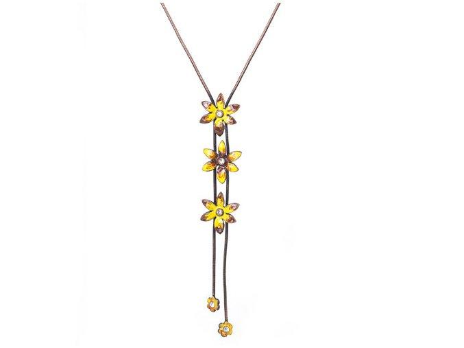 Astra Yellow - náhrdelník