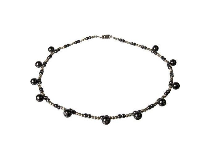 Hematit 34 - náhrdelník (47 cm)