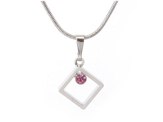 Hesperides - Rose - náhrdelník s přívěskem  «F»