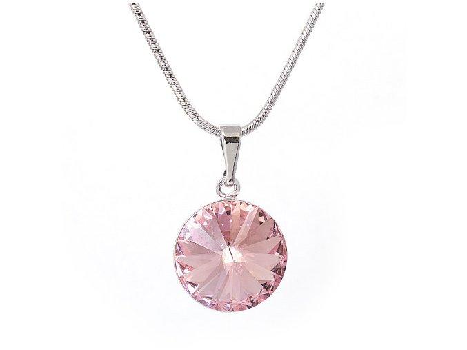 Rivola Vista - Light Rose - náhrdelník s přívěskem  «F»