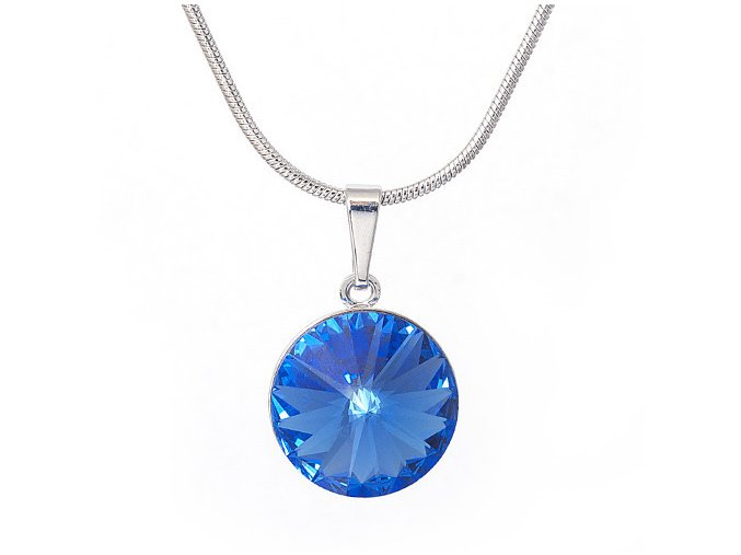 Rivola Vista - Sapphire - náhrdelník s přívěskem  «F»