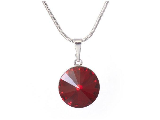 Rivola Vista - Siam - náhrdelník s přívěskem  «F»