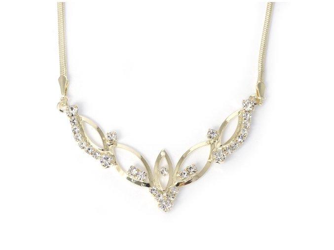 Sidonia - pozlacený náhrdelník