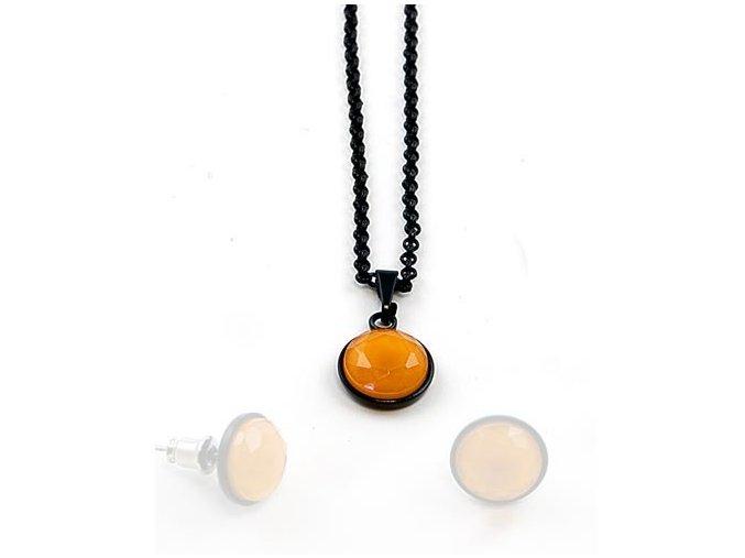 Signal - náhrdelník oranžový