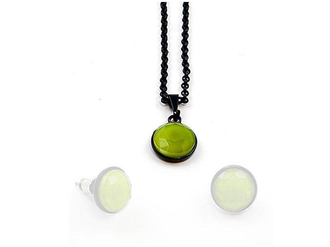 Signal - náhrdelník zelený