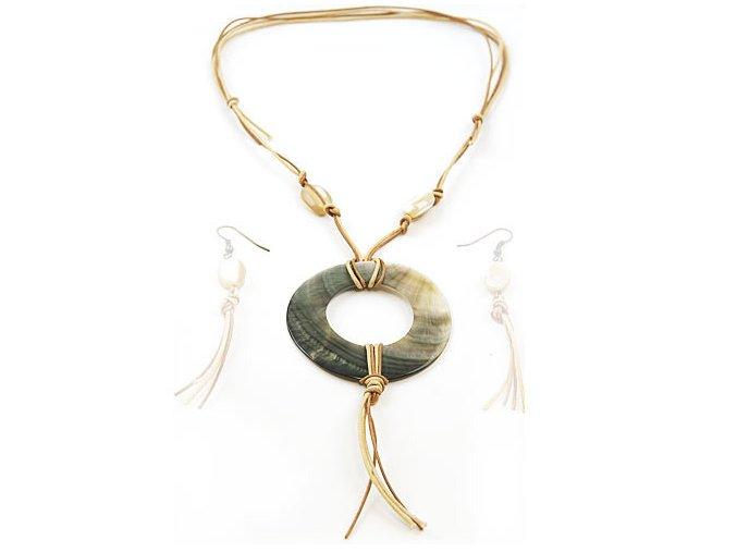 Sioux - náhrdelník perleť