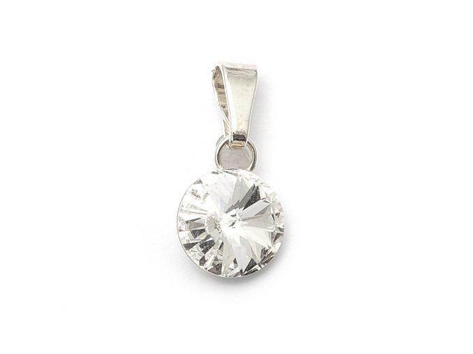 Rivola Crystal - přívěsek stříbro 925/1000