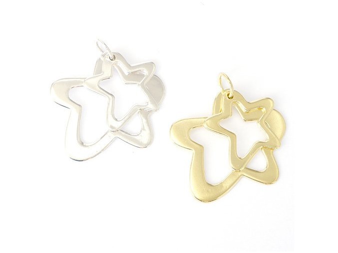 Star Duo - přívěsek stříbro 925/1000