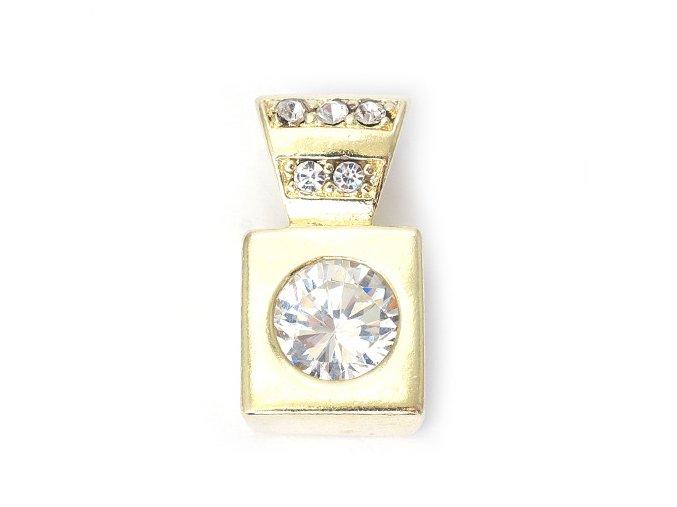 Cartago Crystal - přívěšek pozlaceno