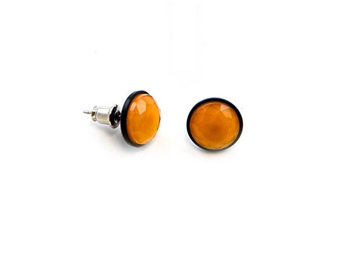 Signal - náušnice oranžové