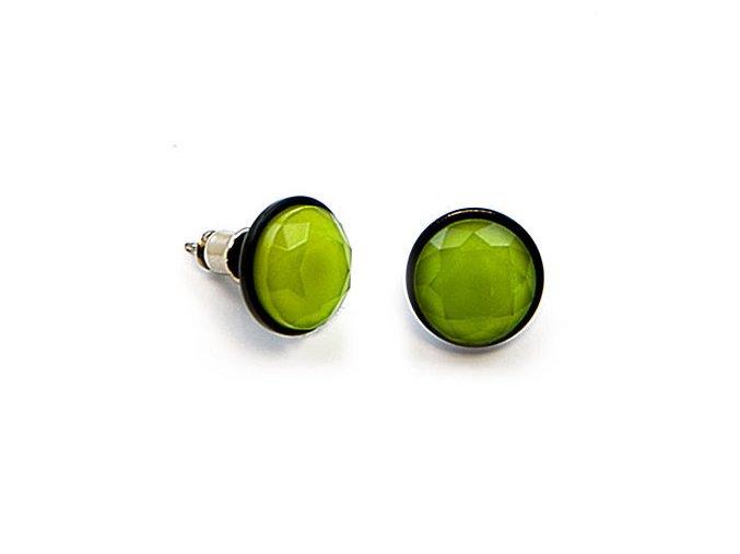 Signal - náušnice zelené