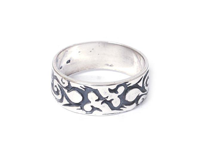 Dragon - prsten stříbro 925