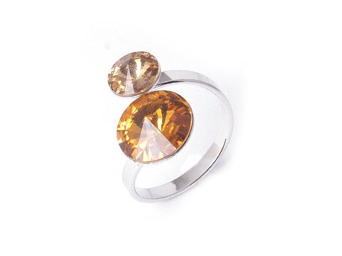 Rivoli Dance Duo Light Colorado - prsten  «F»