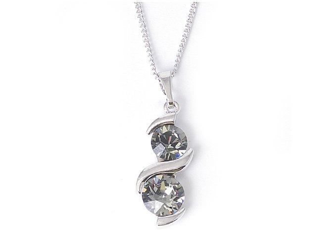 Doppio Black Diamond - náhrdelník  «F»