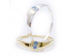 Doble - prsten stříbro 925/1000