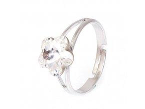 Flora - Crystal - prsten  «F»