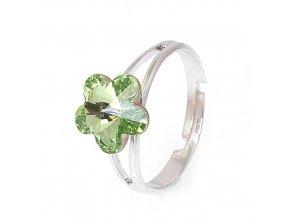 Flora - Peridot - prsten  «F»