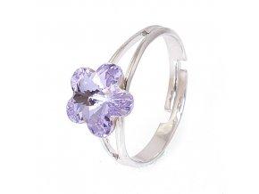 Flora - Violet - prsten  «F»