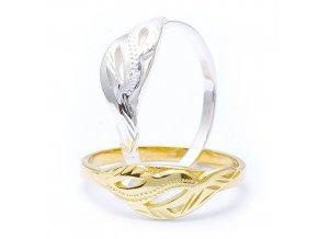 Malaga 2 - prsten stříbro 925/1000