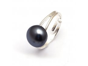 Mugle - prsten hematit  «F»