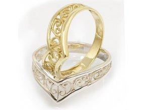 Nana 4 -  prsten stříbro 925/1000