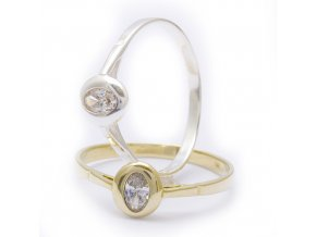 Centro - prsten stříbro 925/1000