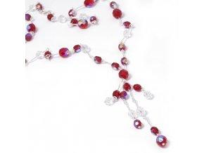 Ariel - náhrdelník červený