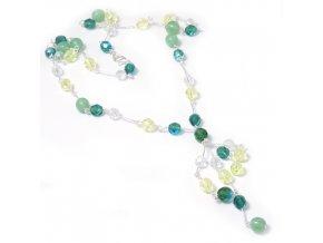 Ariel - náhrdelník zelený