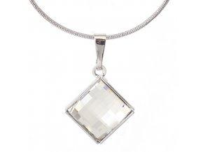 Fobos Koso  - náhrdelník s crystalem Swarovski  «F»