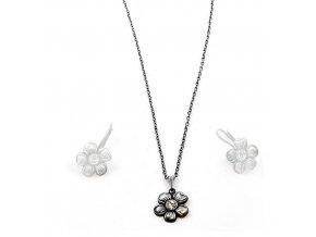 Gallic - náhrdelník s crystalem Swarovski  «F»