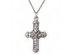 """Kříž """"A"""" - náhrdelník s přívěskem"""