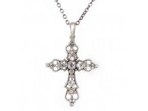 """Kříž """"C"""" - náhrdelník s přívěskem"""