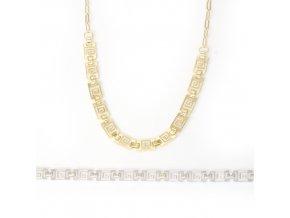 Labyrint - náhrdelník stříbro 925/1000
