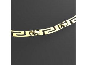 Pandora malá - náhrdelník pozlacený
