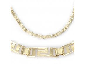 Pandora velká - náhrdelník pozlacený