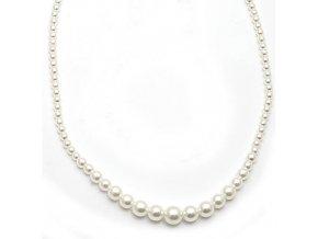 Perla I - náhrdelník bílý