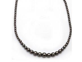 Perla I - náhrdelník hematit
