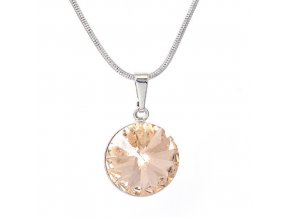 Rivola Vista - Light Peach - náhrdelník s přívěskem  «F»