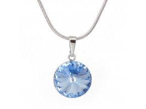 Rivola Vista - Light Sapphire - náhrdelník s přívěskem  «F»