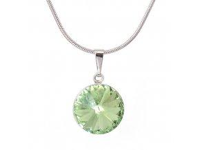 Rivola Vista - Peridot - náhrdelník s přívěskem  «F»