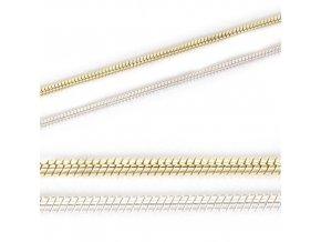 Snake - řetízek stříbro 925/1000