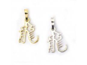 Drak - znamení čínského horoskopu - stříbro 925/1000