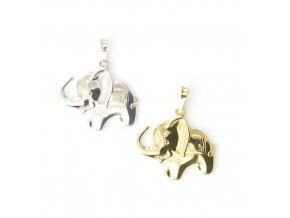 Elephant 3 - přívěsek - stříbro 925/1000