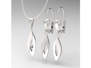Elza - přívěsek stříbro 925/1000