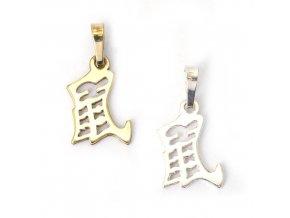 Krysa - znamení čínského horoskopu - stříbro 925/1000