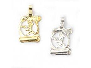 Pergamen Panna - přívěsek horoskop - stříbro 925/1000